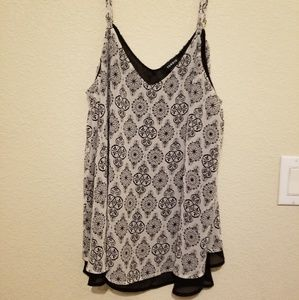 TORRID Double Layered Cami sz 00